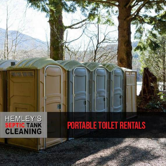 Portable Toilet Rental - Hemley's Septic - Serving Kitsap