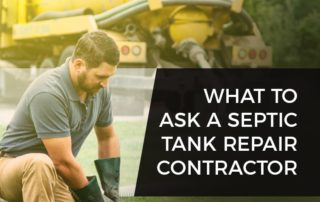 Septic Tank Repair Contractor